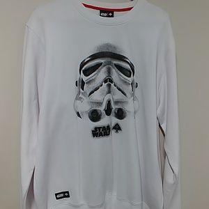 Star Wars LRG stormtrooper sweatshirt sz XL